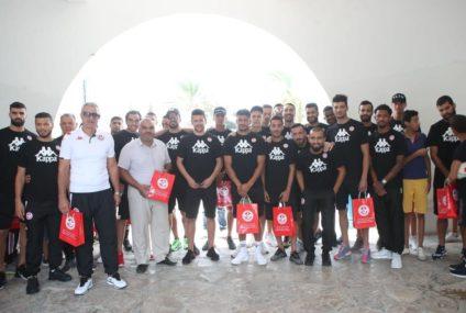 Tunisie EN : Les joueurs de la sélection en visite au village SOS Gammarth