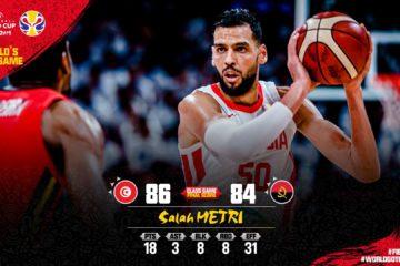 [MAJ] Basketball, la Tunisie gagne mais n'ira pas aux JO