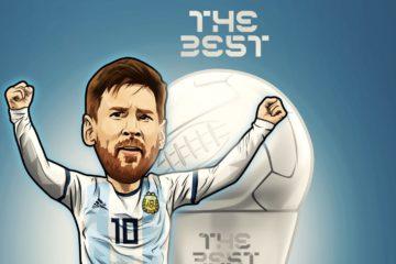 Foot, Messi joueur FIFA de l'année 2019