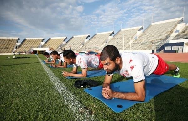 Saddam Ben Aziz, en préparation avec l'EN