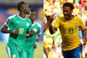 Football : Le Sénégal accroche le Brésil en amical (1-1)