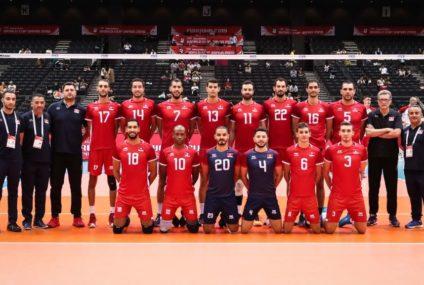 Volley-ball : Défaite de la Tunisie au championnat du monde