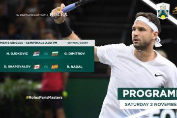 Tennis : Paris Masters, vers une finale Djokovic – Nadal ?
