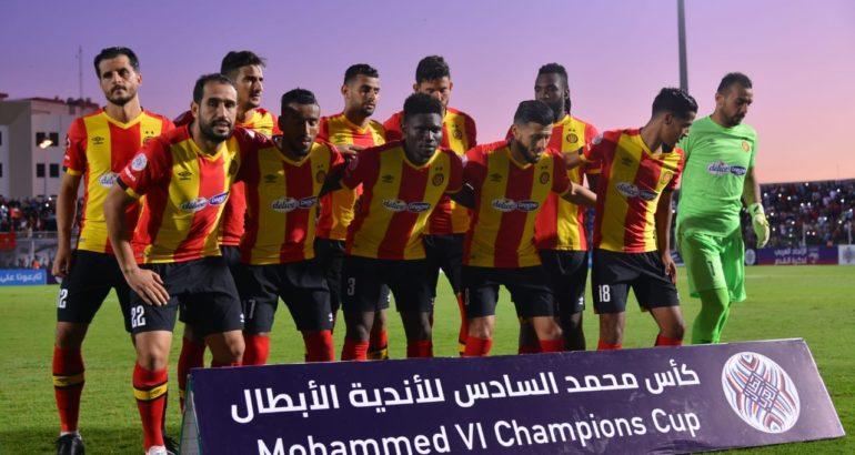 l'ES Tunis, prépare son match en coupe arabe face à l'OC Safi