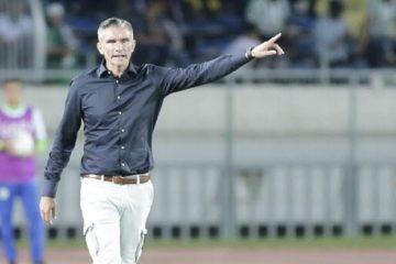 Patrice Carteron entraîneur du Zamalek