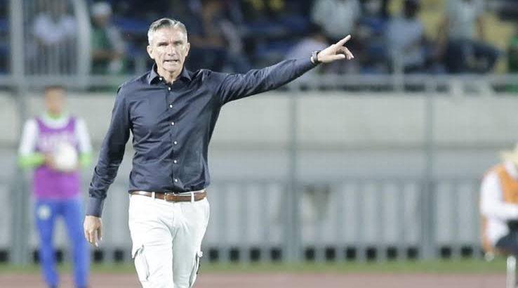 Patrice Carteron, l'entraineur français limogé du Raja AC (Maroc)