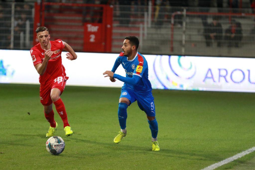 Selim Khelifi, l'attaquant de Holstein en Bundesliga 2