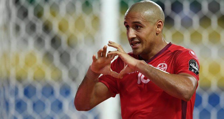Wahbi Khazri, l'attaquant tunisien de Saint-Etienne, de retour en sélection