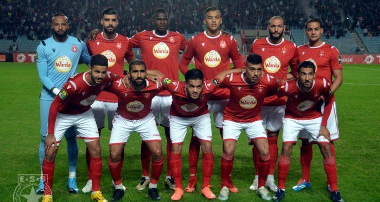 Etoile Sportive du Sahel face à El Ahly d'Egypte (1-0)