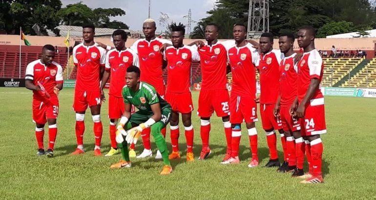 Horoya AC, le club guinéen de Conakry, favoris du groupe B