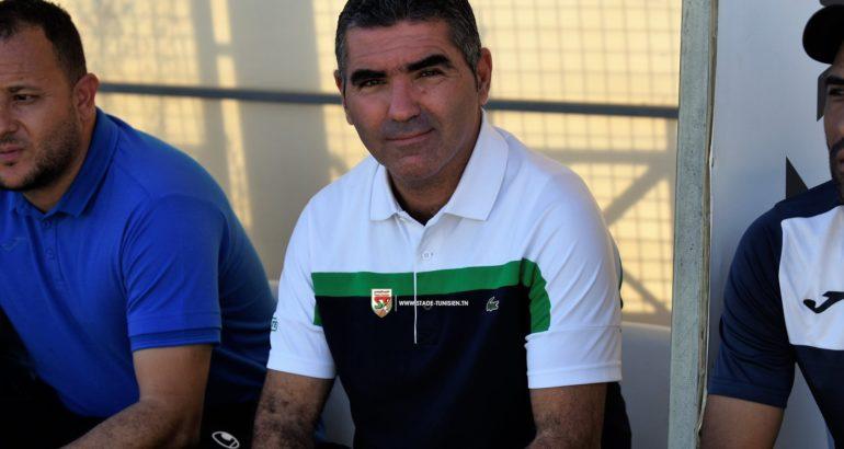 Jalel Kadri, l'a remporté à Sfax avec le Stade Tunisien (1-2)
