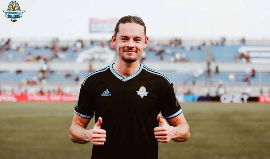 Amor Laayouni, buteur avec le Pyramids FC au Nigera (1-3)