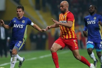 Lourde défaite de Kayserispor face au Besiktas (4-1), Abdennour sorti à la mi-temps