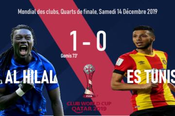 Football, FIFA CWC : Bafé Gomis punit l'Espérance de Tunis