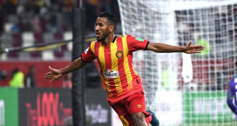 Hamdou El Houni, l'attaquant Libyen de l'Espérance de Tunis