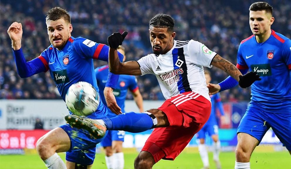 Jeremy Dudziak, défait avec Hambourg en Bundesliga 2