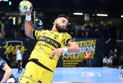 Handball : Maouren Chouiref dans l'équipe type de 12e journée en France