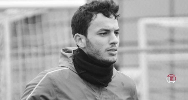 Montassar Talbi, jeune défenseur tunisien de Rizespor (TUR)