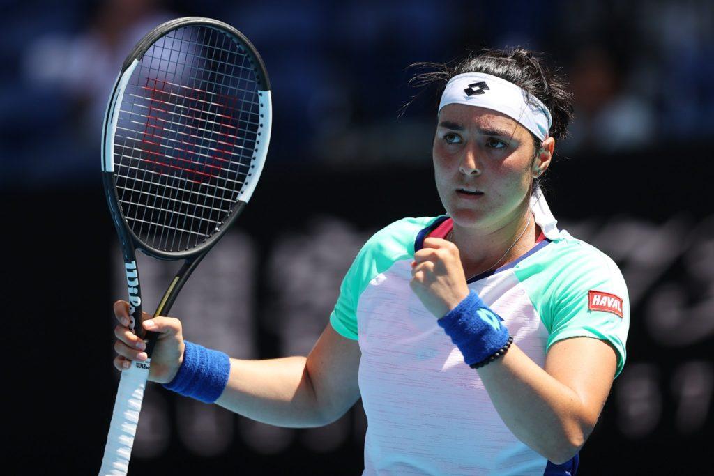 Ons Jabeur, classée 45e au ranking WTA