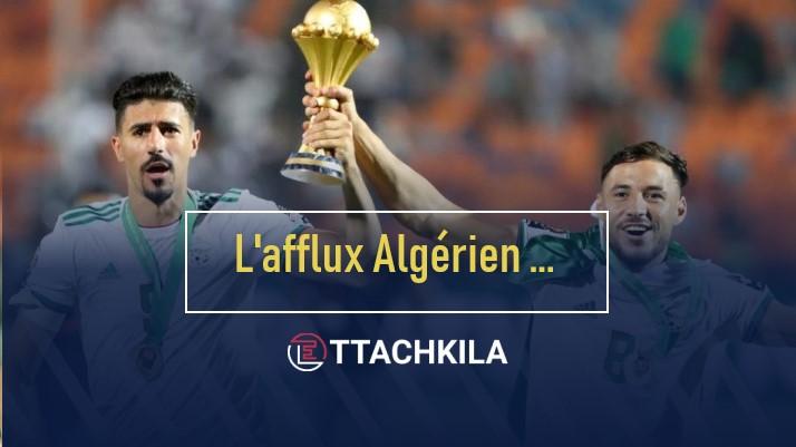 Baghdad Bounedjah et Youssef Blaili, deux champions d'Afrique passés par la Tunisie