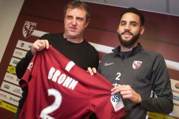 Dylan Bronn, symbole de l'excellent début de saison du FC Metz