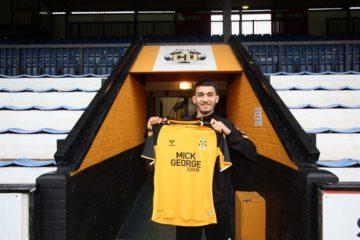 Football, League Two : Idriss El Mizouni à Cambridge United