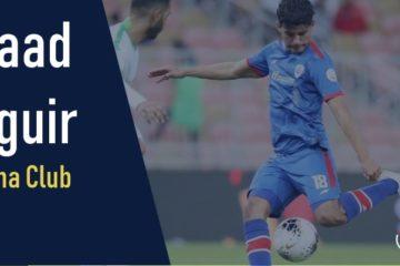 Saâd Bguir passeur malgré la défaite de son équipe