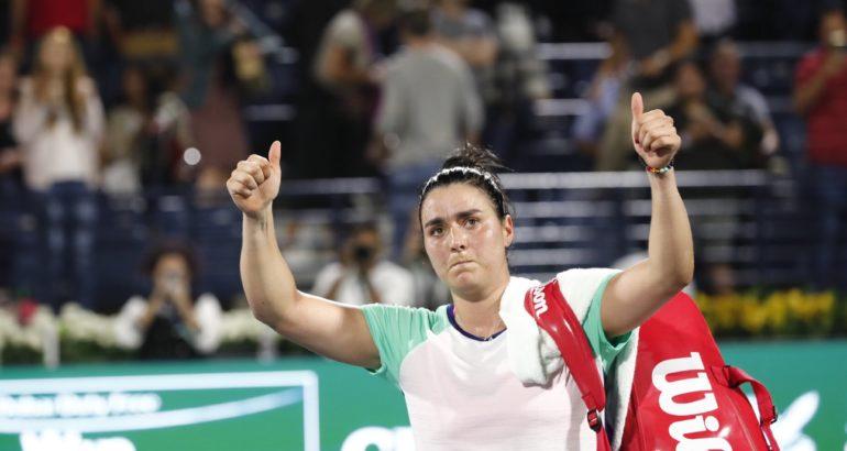 Ons Jabeur, éliminée face à la roumaine Simona Halep à Dubai