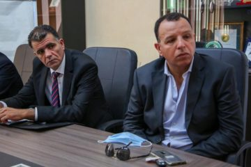 Abdesslem Younsi reçu par le ministre des sports