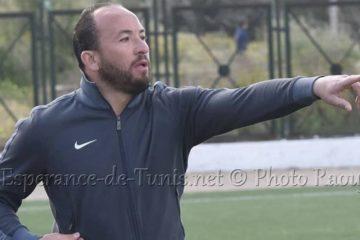 Wajdi Bouazzi gravit les échelons à l'Espérance de Tunis