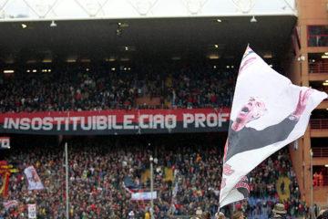 Football : Il Professore Scoglio et le Aquile di Genoa..