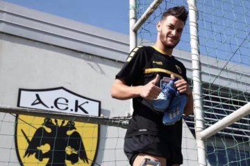 Nessim Henid fera ses débuts ce samedi avec l'AEK Athènes