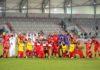Hamdi Harbaoui en finale de la coupe du Qatar