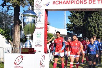 Rugby, Championnat de Tunisie : le Rugby Club de Béja remporte son 1e trophée