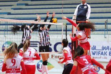 Volleyball, Tunisie Télécom Championship : le CFC et le CSS prennent une option pour la qualification