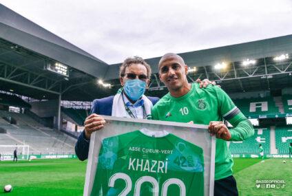 Wahbi Khazri met un triplé avec Saint-Etienne