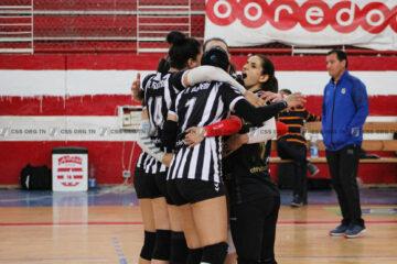 Volleyball, Tunisie Télécom Championship : le Club Féminin de Carthage et le Club Sportif Sfaxien joueront le titre
