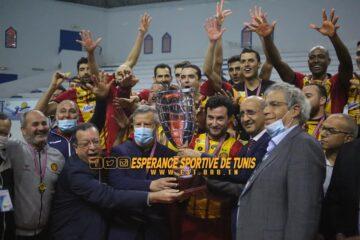 Volleyball, Tunisie Télécom Cup : le Doublé à l'Espérance.