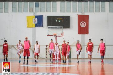 Basketball, Team Tunisia : la FTBB communique la liste pour le prochain stage