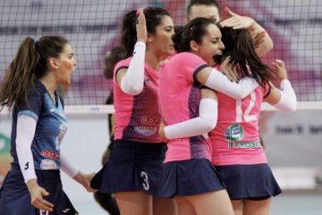 Volleyball, Tunisie Télécom Championship : le Club Féminin de Carthage prend une option