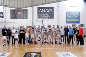 Basketball, Pro A : l'Étoile Sportive Goulettoise, la Jeunesse Sportive d'El Menzah en barrage, l'Association Sportive de Hammamet en Nationale 1