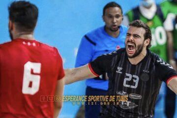 Handball, Nationale A : le Clásico pour l'Eséprance, l'Association Sportive de Hammamet enchaîne et le Club Africain s'impose