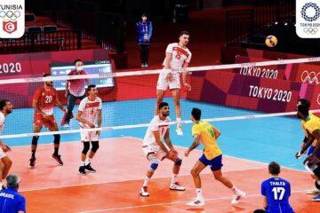 Jeux Olympiques, Tokyo 2020 : la Tunisie perd lourdement face au Brésil