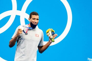 Olympic Games, Tokyo 2020: Ahmed Ayoub Hafnaoui on top of the world