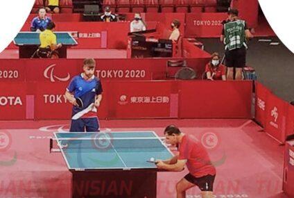 Paralympics Games, Tokyo 2020 : Karim Gharsallah quitte le tournoi de Tennis de Table
