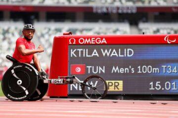 Paralympics Games, Tokyo 2020 : Walid Ktila entre dans l'histoire avec l'Or et un record paralympique, Yousra Ben Jemaâ proche du podium