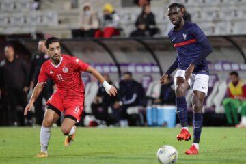 Football, Tournoi Maurice Revello : la Tunisie U-21 accroche la France